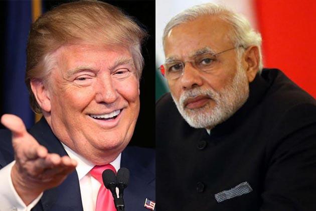 امریکہ کے نئے صدر ڈونالڈ ٹرمپ وزیر اعظم نریندر مودی سے آج رات بات کریں گے