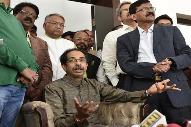 शिवसेना- NCP की बन सकती है सरकार, कांग्रेस बाहर से देगी समर्थन