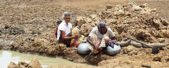श्रीलंका में सूखे की मार, संकट में 10 लाख से अधिक लोग