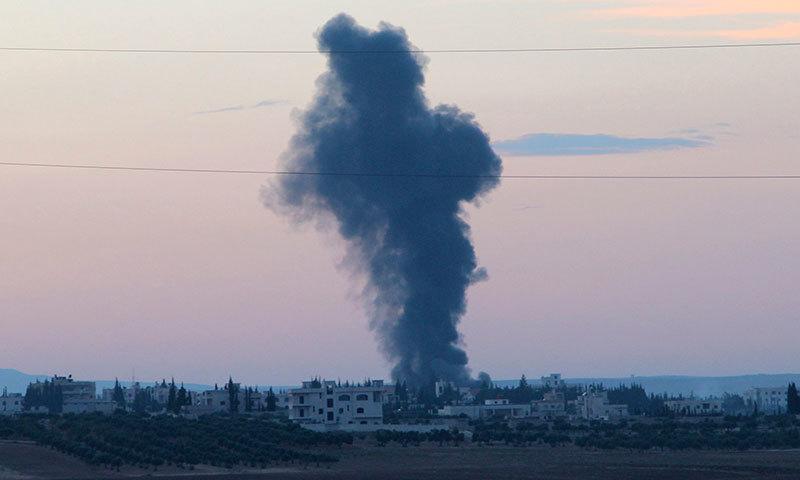 شام: امریکی اتحادیوں کی ایک ماہ کی فضائی کارروائی، 224 ہلاک