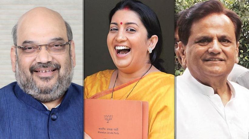 गुजरात रास चुनाव : अहमद पटेल जीते, शाह और ईरानी ने भी उच्च सदन में बनाई जगह