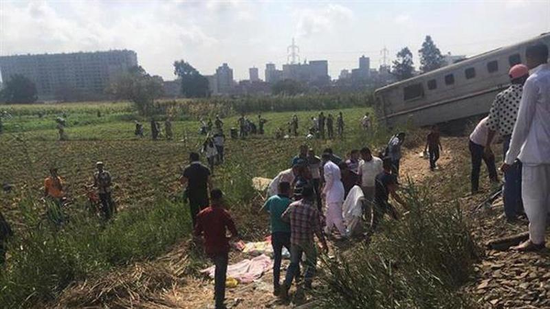 मिस्र में दो ट्रेन में टक्कर, 50 हताहत दर्जनों घायल