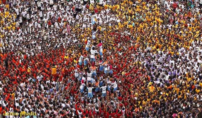 दही हांडी समारोहों के दौरान 2 गोविंदाओं की मौत, 117 लोग जख्मी