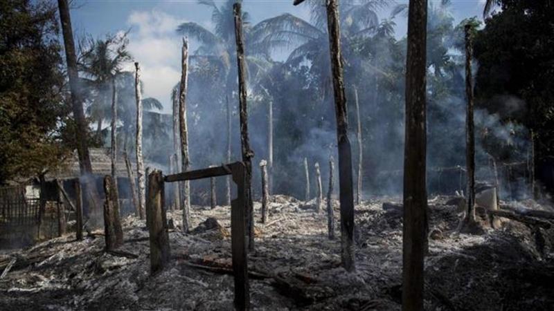 म्यांमार, हिंसा की नई लहर, 20 घर तबाह, मस्जिद के निकट धमाका