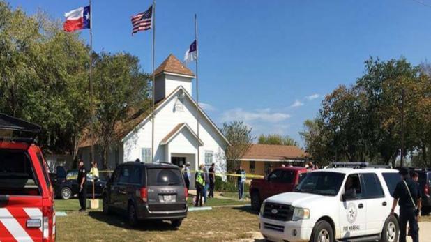 टेक्सास के चर्च में फायरिंग, 26 की मौत, कई लोग घायल, ट्रंप ने जताया दुख