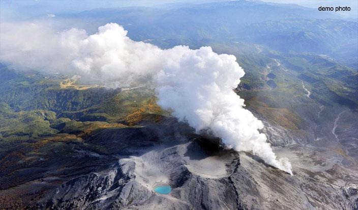 जापान में ज्वालामुखी विस्फोट के बाद हिमस्खलन से एक की मौत,11 घायल