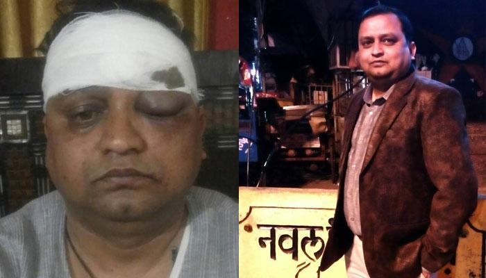 पत्रकार नवलकांत पर जानलेवा हमला करने वाले गिरफ्तार