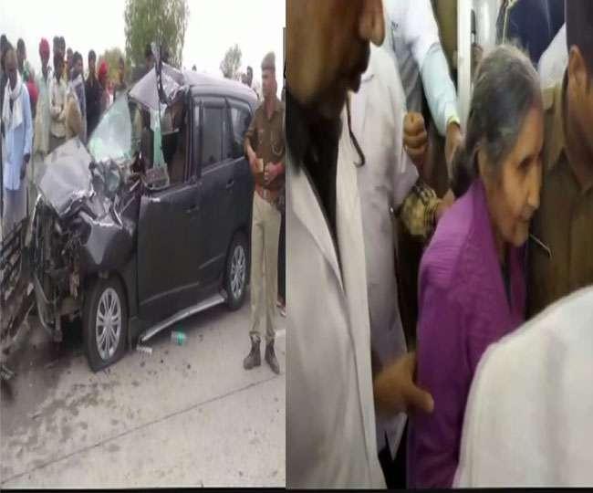 प्रधानमंत्री मोदी की पत्नी सड़क दुर्घटना में बाल बाल बची, एक की मौत
