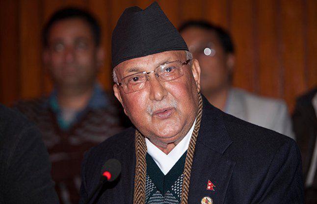 के. पी. शर्मा ओली दूसरी बार नेपाल के प्रधानमंत्री बने