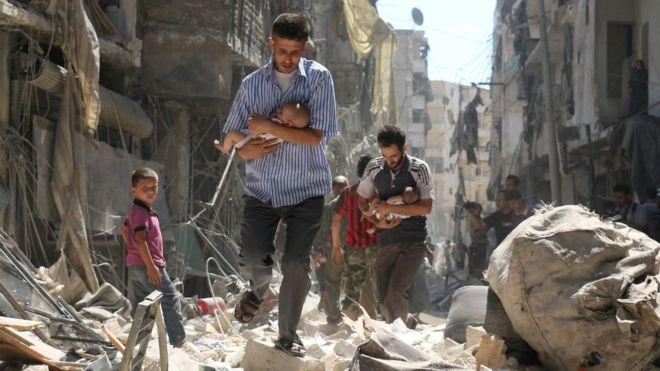 شام: مشرقی غوطہ میں 5 گھنٹوں کے لیے 'عارضی جنگ بندی' کی اجازت