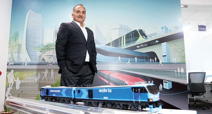 रेलवे बजट में पांच फीसदी की वृद्धि