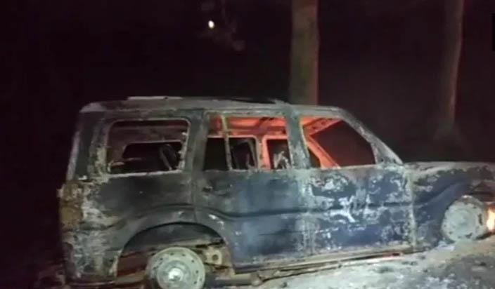 पत्रकार सहित दो की वाहन से कुचलकर मौत, पूर्व मुखिया गिरफ्तार