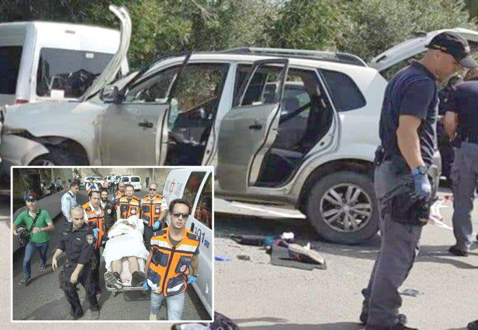 فلسطینی نے اسرائیلی فوجیوں کو گاڑی تلے روند دیا' 2ہلاک