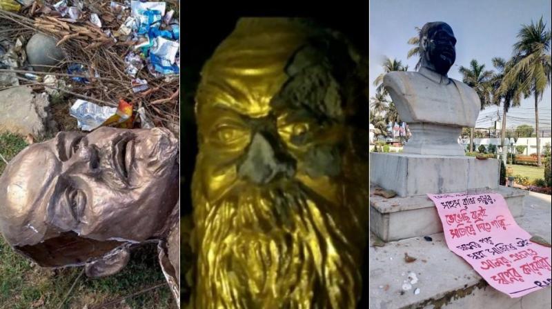 अब मेरठ में तोड़ी अंबेडकर की मूर्ति, उपराष्ट्रपति बोले- ऐसे लोग पागल -बेशर्म हैं