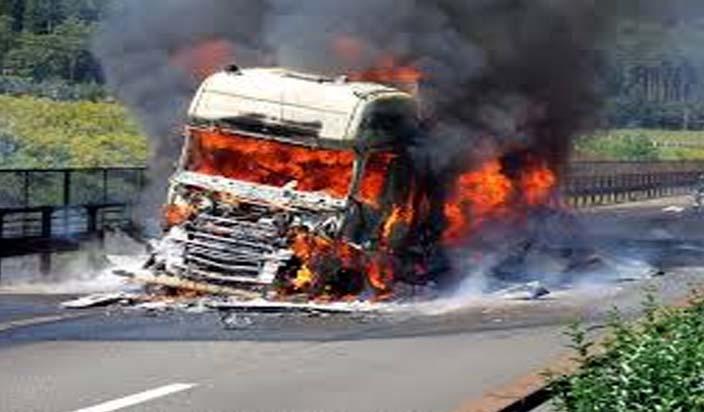 उत्तरी चीन में विस्फोटक लेकर जा रहे ट्रक में धमाका, सात लोगों की मौत