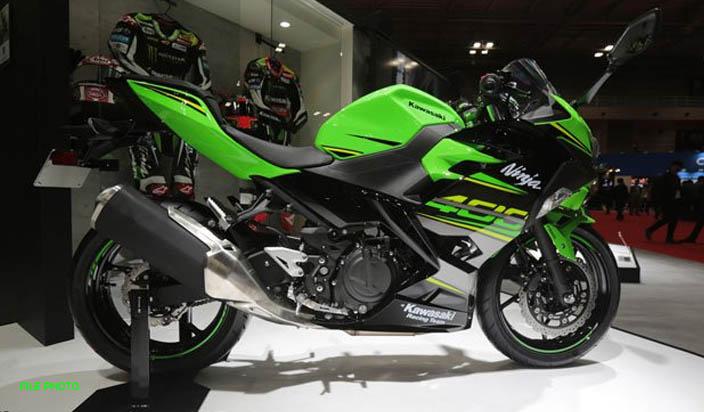 भारत में आई हाई स्पीड Kawasaki Ninja 400