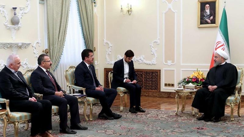 ईरान व तुर्की के संबंधों में विस्तार के लिए अधिक प्रयास किए जाएंः रूहानी
