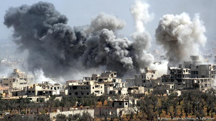 सीरिया में आतंकियों ने किया रासायनिक हमला, 90 हताहत व 111 घायल