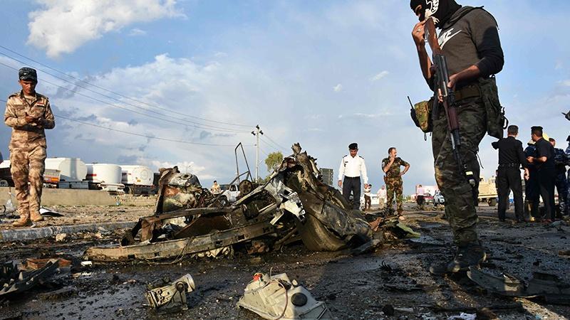 इराक़, नैनवा प्रांत के एक बाज़ार मेंं धमाका, 7 आम नागरिक हताहत, तीन अन्य घायल