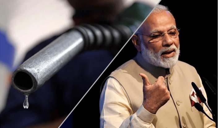 मोदी के कार्यकाल में डीजल ने लगाई 20 फीसदी की छलांग