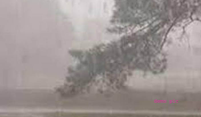 देश के उत्तरी राज्यों में आंधी तूफान की चेतावनी
