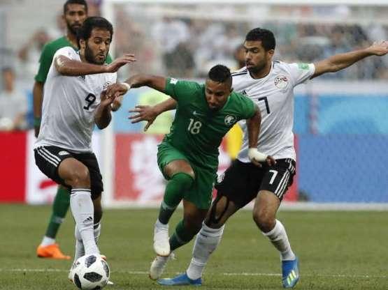 फीफा विश्व कप: इंजरी टाइम में सलेम अल-दवसारी के गोल से जीता सऊदी अरब, मिस्र को 2-1 से हराया