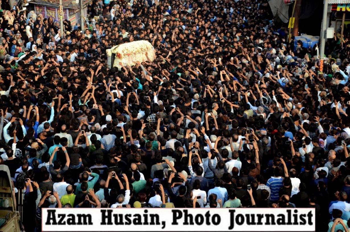21 Ramzan - मौला ए कायनात हजरत अली अ0स0 की शहादतका जुलूसअकीदत | एहतराम के साथ निकला