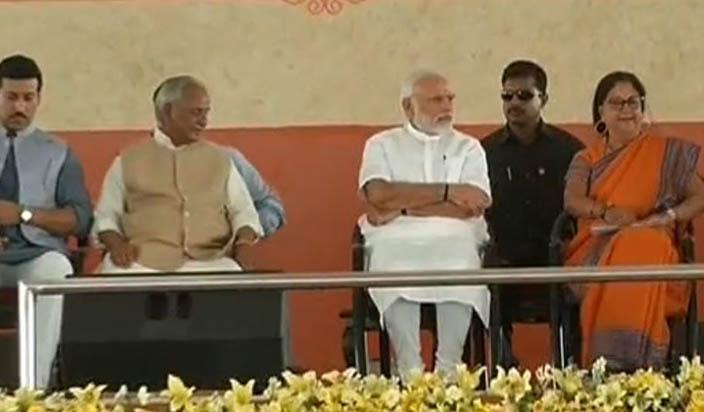 प्रधान मंत्री मोदी का राजस्थान दौरा