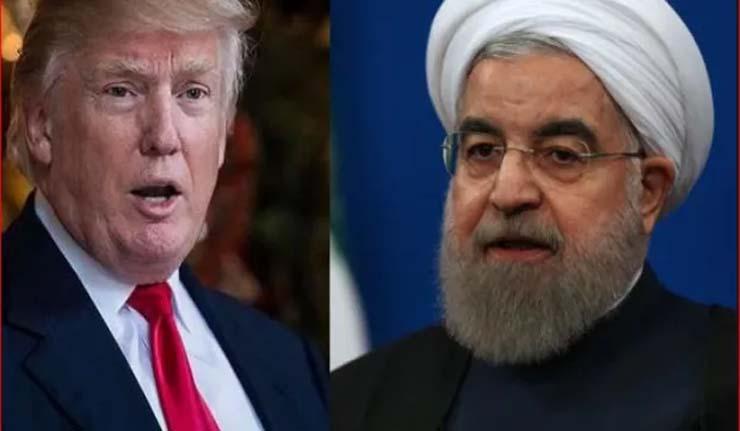 ईरान को लेकर बदले ट्रंप के सुर, कहा रूहानी से मिलने को तैयार हूं