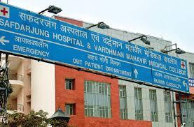 सफदरजंग अस्पताल में अब सुबह 8 से रात 8 बजे तक चलेगी ओपीडी