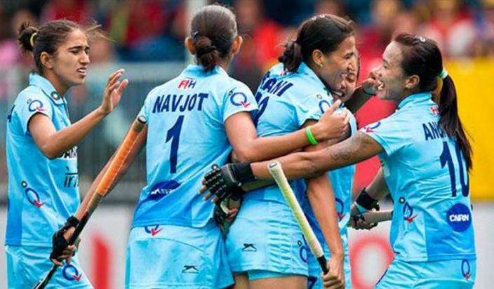 भारतीय महिला हॉकी टीम इटली को 3-0 से हराकर क्वार्टरफाइनल में