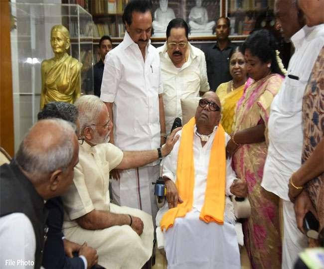 تمل ناڈو کے سابق وزیراعلیٰ ایم کرونا ندھی کا 94 سال کی عمر میں انتقال