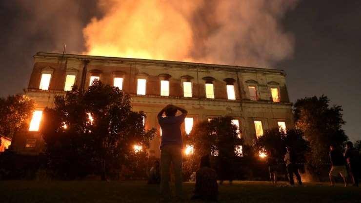 ब्राज़ील का राष्ट्रीय म्यूज़ियम : इस भीषण आग में 'खाक' हुआ 200 साल का इतिहास