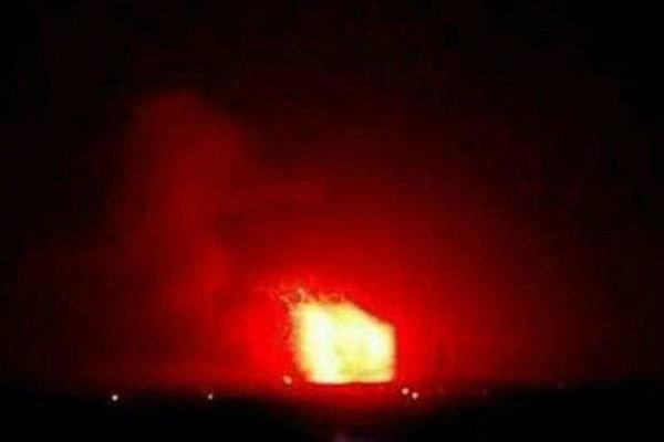 دمشق کےقریب ایئر پورٹ پر دھماکوں کی آواز یں سنی گئیں