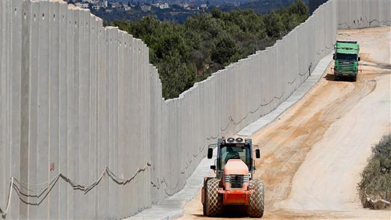 इस्राईल ने सीमा दीवार के 11 किलोमीटर भाग का निर्माण पूरा किया।