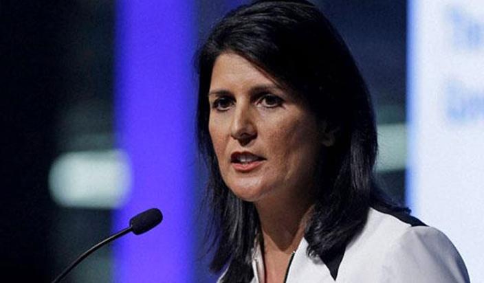 सुरक्षा परिषद की ईरान पर बातचीत का अमेरिका नेतृत्व करेगा : हेली