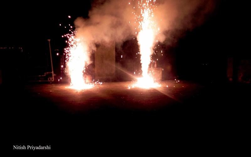 SC के आदेश का उल्लंघन, लोगों ने समय सीमा के बाद भी फोड़े पटाखे