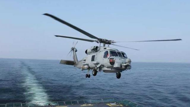 हिंद महासागर में चीनी चुनौतियों से निपटेगा 'रोमियो' हेलीकॉप्टर